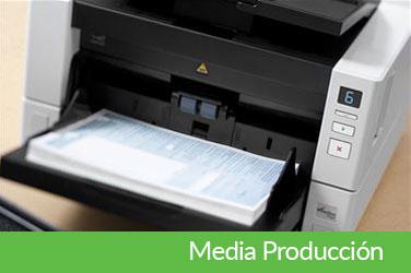Scanners de Media Producción