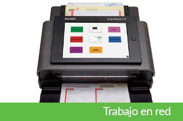 Scanners para trabajo en red